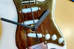 Body of Stratocaster clock